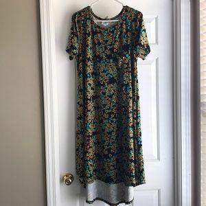 LuLaRoe Dresses - Lularoe Carly dress. Size large